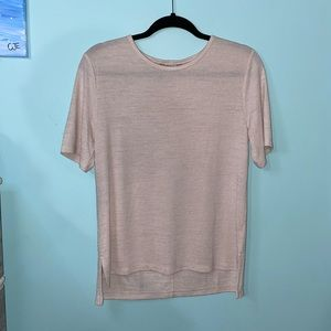 NWOT Banana Republic Off White Knitted Tee